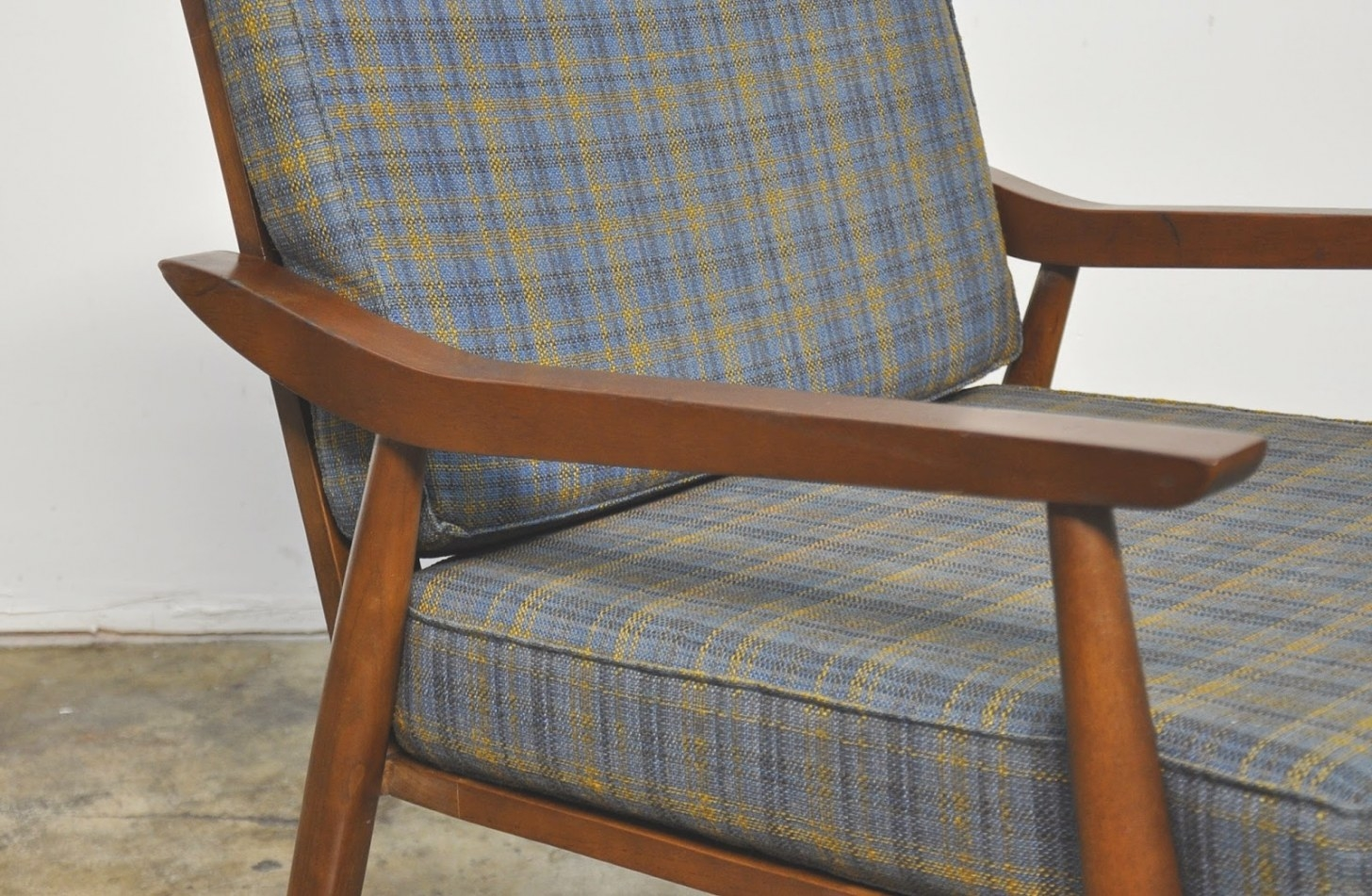 Select Modern: Danish Modern Lounge Or Easy Chair within Mid Century Lounge Chair