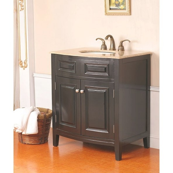 Sevante 32-Inch Single Sink Bathroom Vanity - 11918321 with 32 Inch Bathroom Vanity