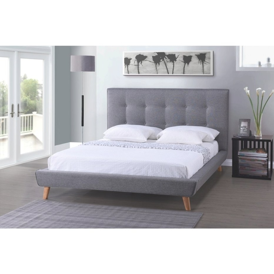Shop Baxton Studio Jonesy Scandinavian Style Mid-Century with King Size Platform Bed