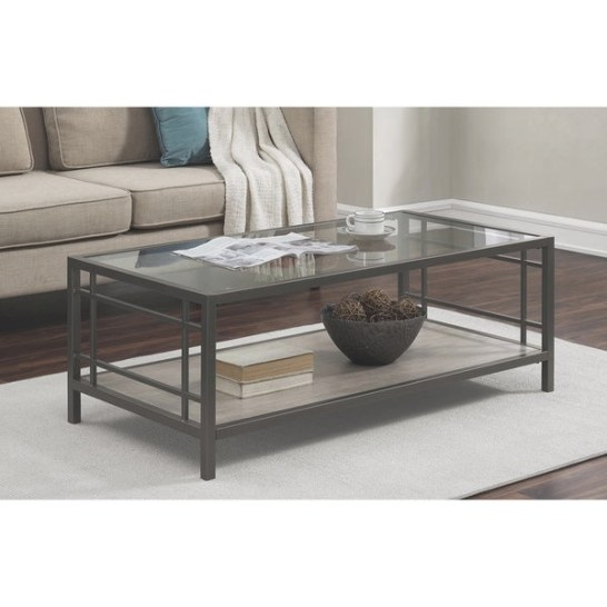 Shop Copper Grove Alice Wood/ Glass/ Metal Coffee Table with Wood And Glass Coffee Table