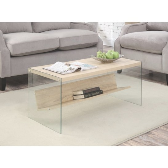 Shop Porch & Den Bywater Urquhart Wood/ Glass Coffee Table for Wood And Glass Coffee Table