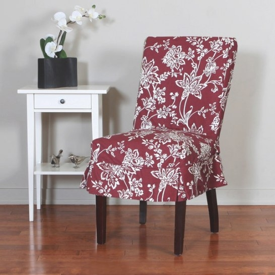Shop Quickcover Verona 1-Piece Relaxed Fit Floral Mid with Dining Room Chair Covers