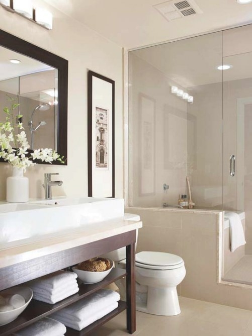 Small Bathroom Design Ideas inside Images Of Small Bathrooms