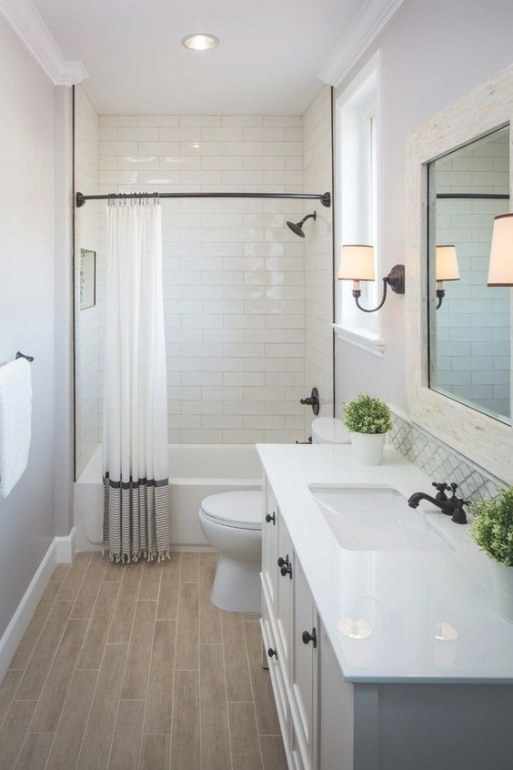 Small Bathroom Makeover … | Small Bathroom Remodel intended for ** In Small Bathroom