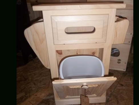 Small Bathroom Table-With Trash Can, Toilet Paper Holder regarding Where To Put Toilet Paper Holder In Small Bathroom