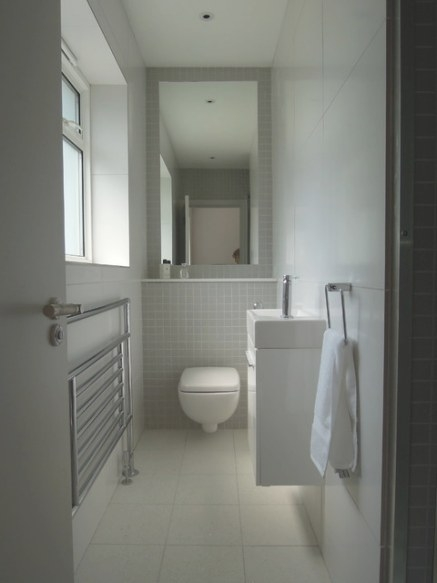Small Bathrooms - Modern - Bathroom - Other Metro - with regard to Images Of Small Bathrooms