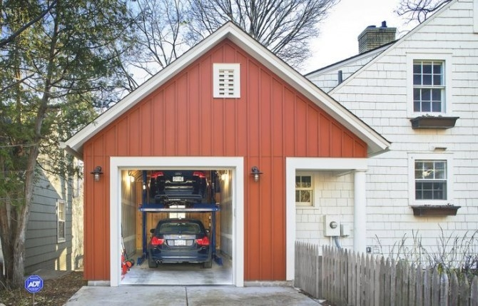 Small Single Car Garage Dimensions - Google Search | Home in Size Of 2 Car Garage
