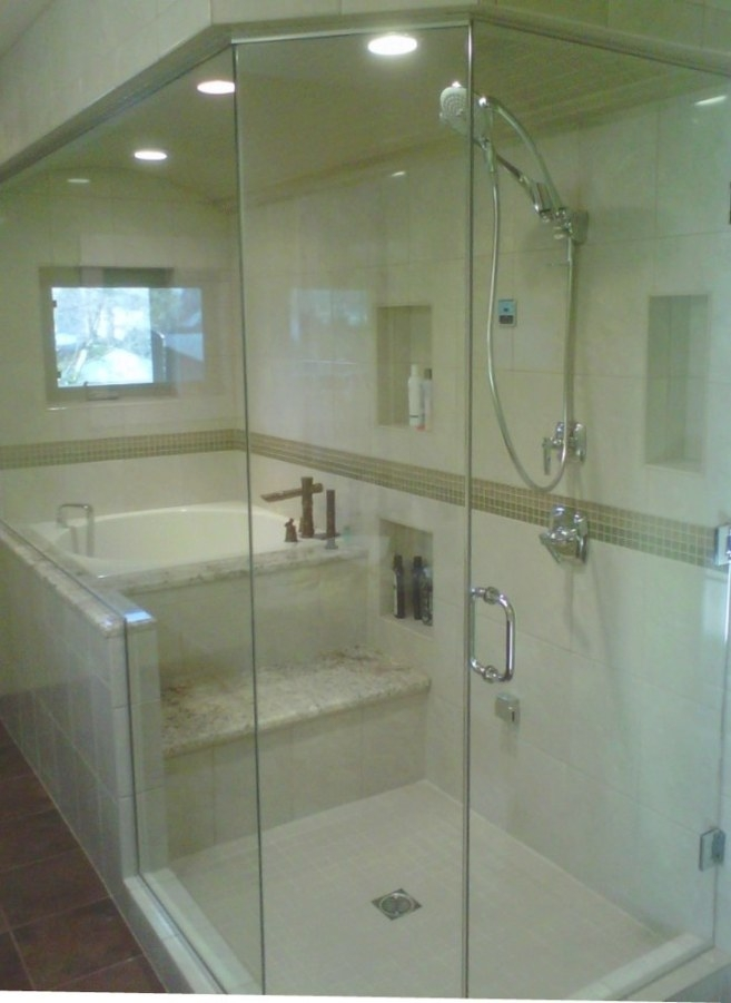 Soaking-Tub-Shower-Combo-Bathroom-Contemporary-With-Alcove inside Soaking Tub Shower Combo