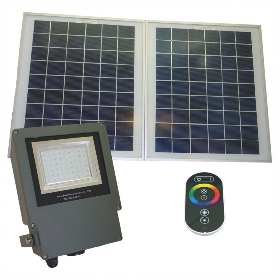 Solar Goes Green Solar Grey Color Led Changing Outdoor regarding Remote Control Outdoor Lights