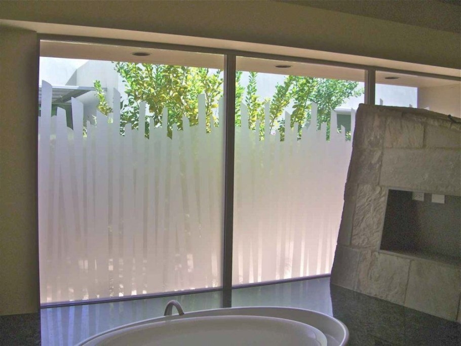 Something Like This Would Enable Us To See Out Of The within Small Privacy Window Bathrooms