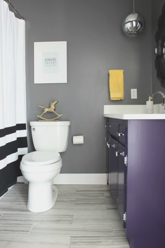 Something Will Always Go Wrong: The Hall Bathroom Remodel intended for Black And Gray Bathroom