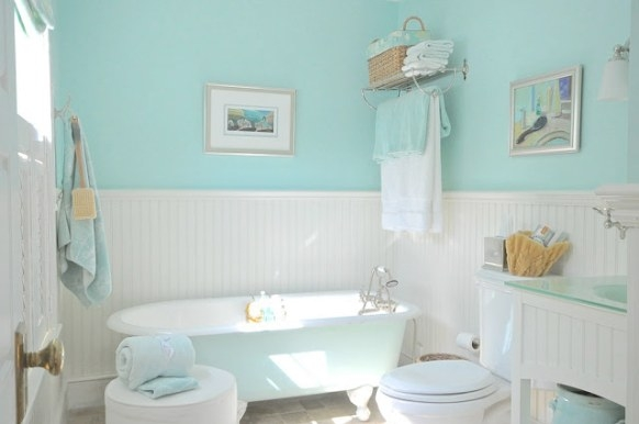 Sopo Cottage: Bathrooms Inspiredthe Sea - Part 1 in Green Board In Bathroom