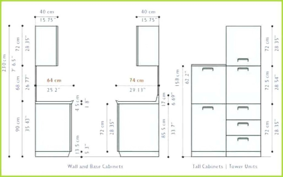 Standard Kitchen Cabinet Dimension Standard Kitchen inside Standard Kitchen Counter Height