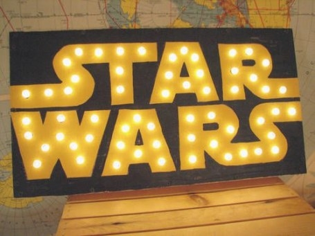 Star Wars Light Up Sign - Home Sweet Home Craftster Best pertaining to Light Up My Home