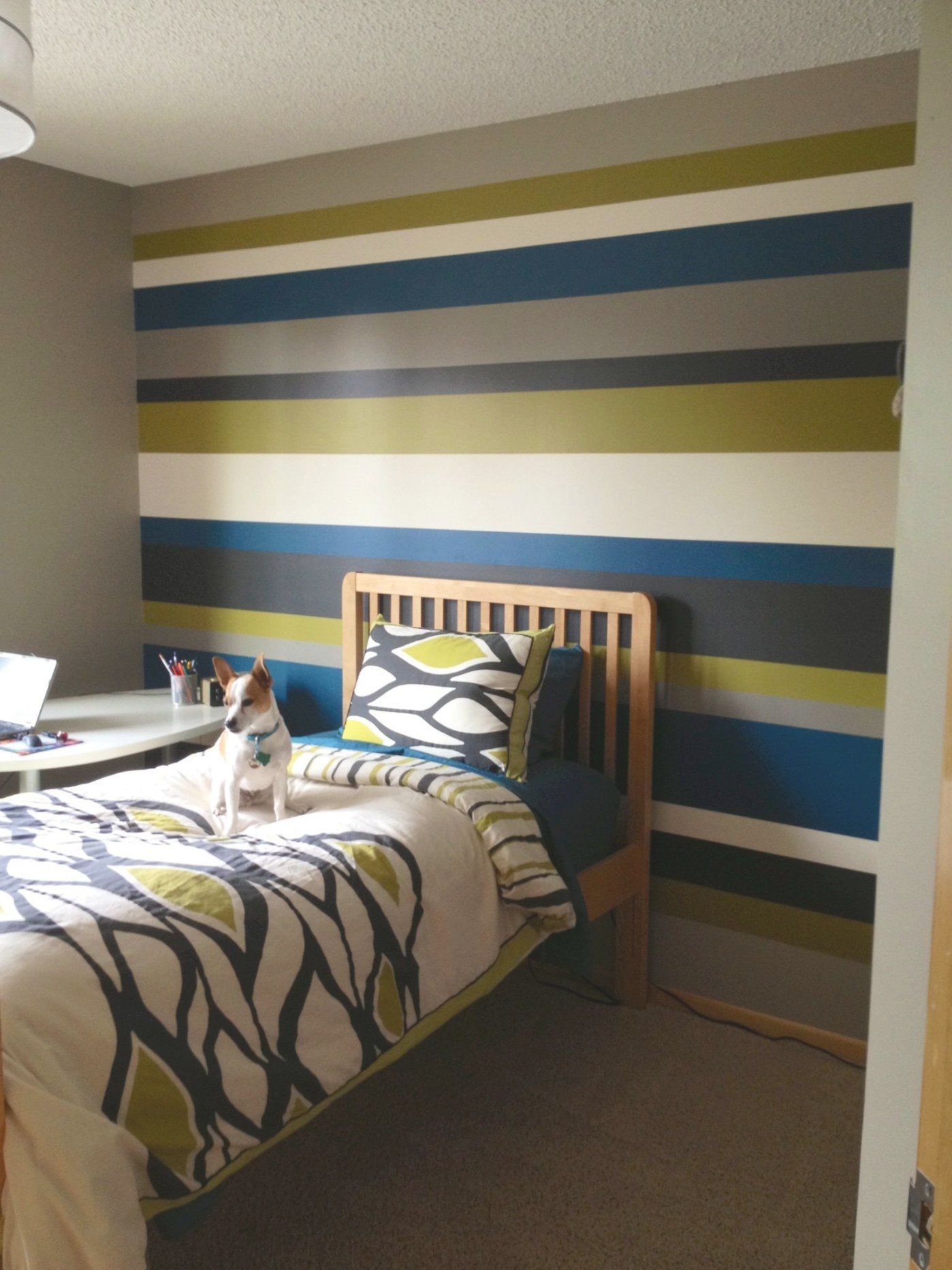 Striped Walls - Teenage Boy Bedroom? | Striped Walls for Pictures Of Boys Bedrooms