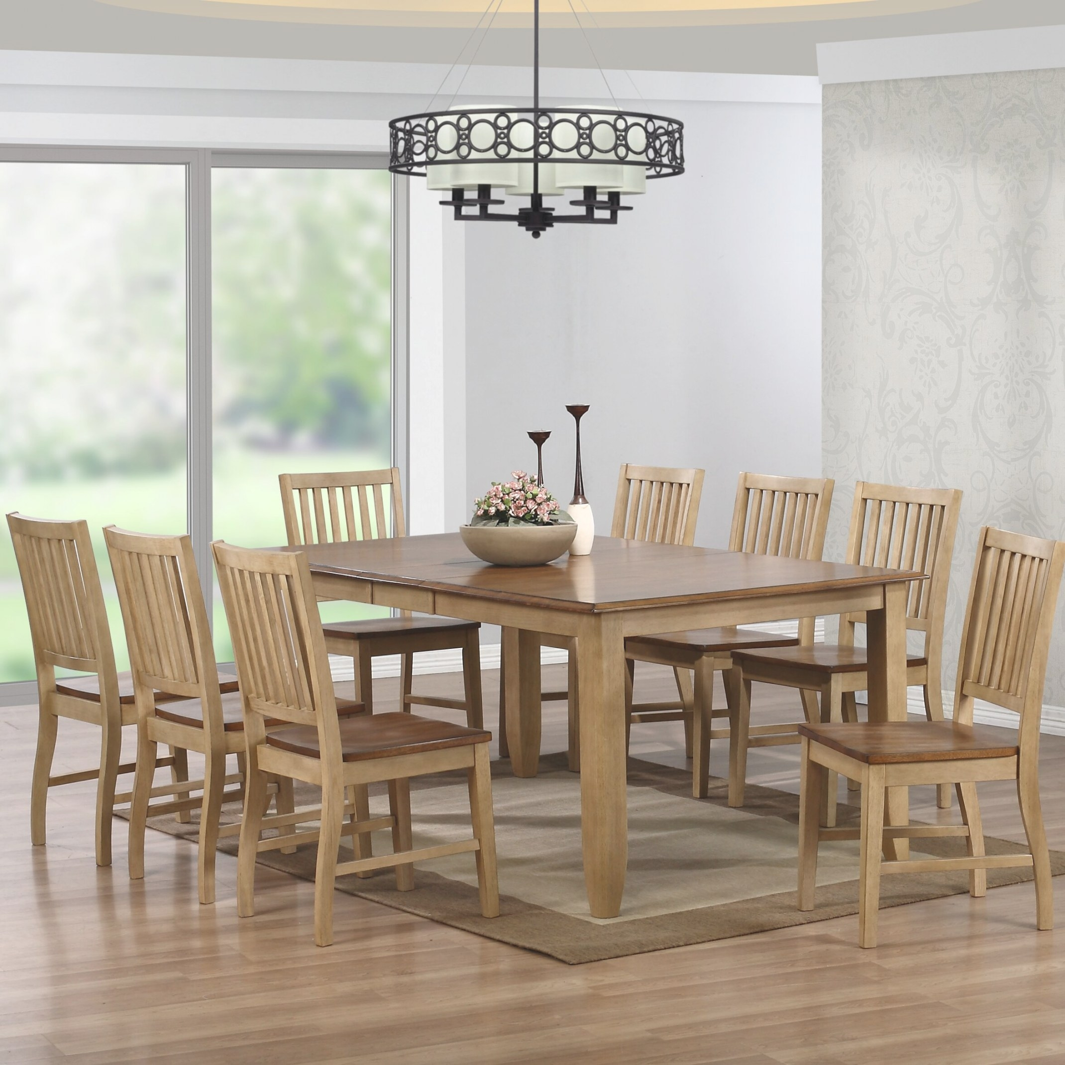 Sunset Trading Brook 9 Piece Dining Set & Reviews | Wayfair pertaining to 9 Piece Dining Set