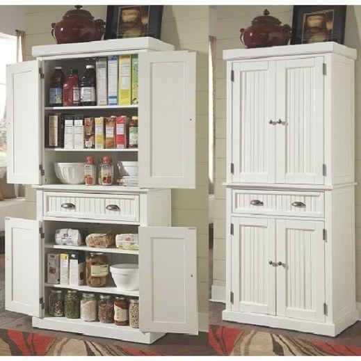 Tall Kitchen Pantry Storage Cabinet Utility Closet with regard to Kitchen Pantry Storage Cabinet