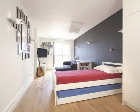 Teen Boy Sport Bedroom | Houzz throughout Houzz Teenage Girl Bedrooms