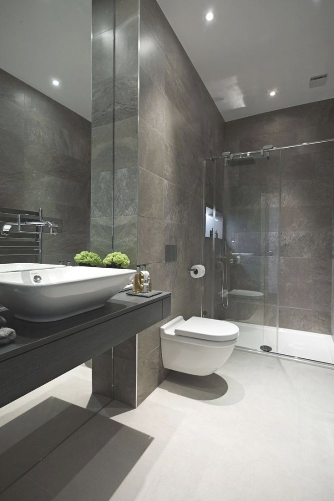 The 25+ Best Grey White Bathrooms Ideas On Pinterest throughout White And Grey Bathroom