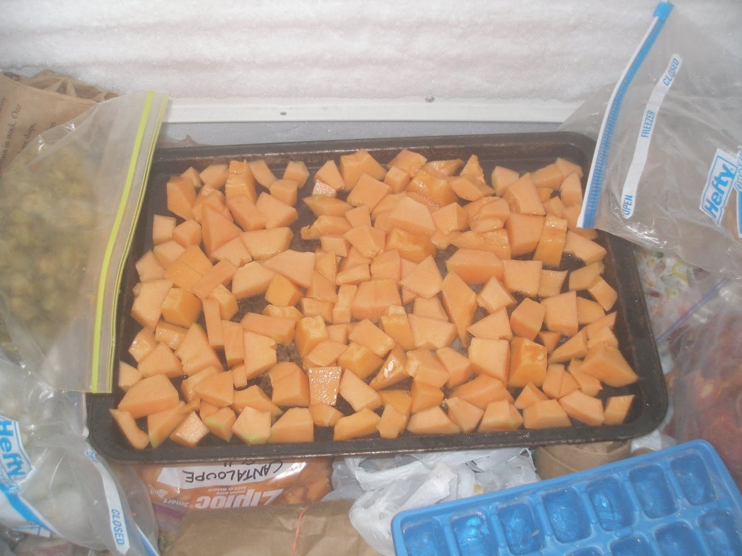 The Boulder Belt Blog: How To Freeze Cantaloupe intended for Can You Freeze Watermelon