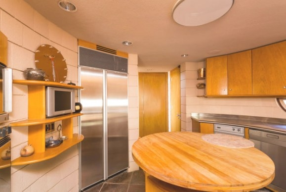 The Last Home Frank Lloyd Wright Designed Is For Sale pertaining to Frank Lloyd Wright Kitchen