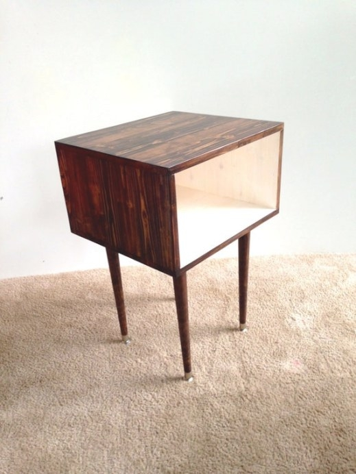 The Side Tablemid Century Modern Side Table inside Mid Century Modern Side Table