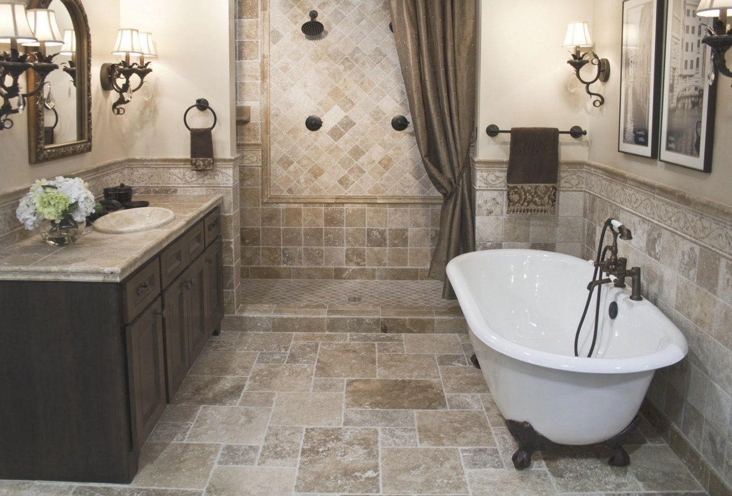 The Top 20 Small Bathroom Design Ideas For 2014 - Qnud for Bathtub Designs For Small Bathrooms