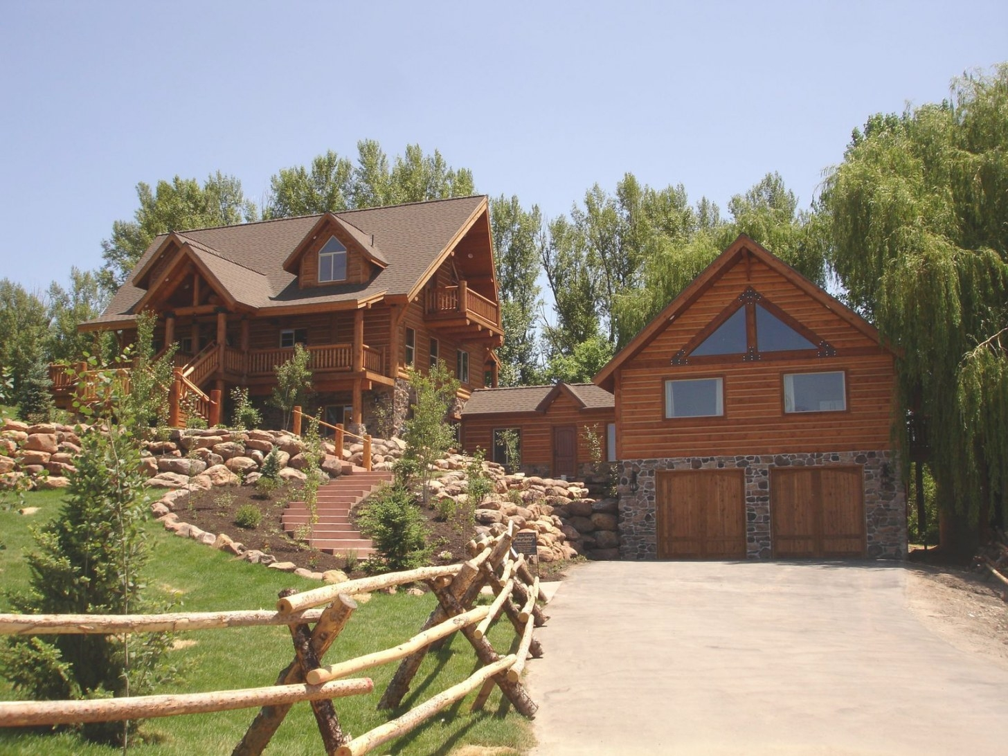 The Ultimate In Log Home Living Is In A Whisper Creek Log inside Whisper Creek Log Homes