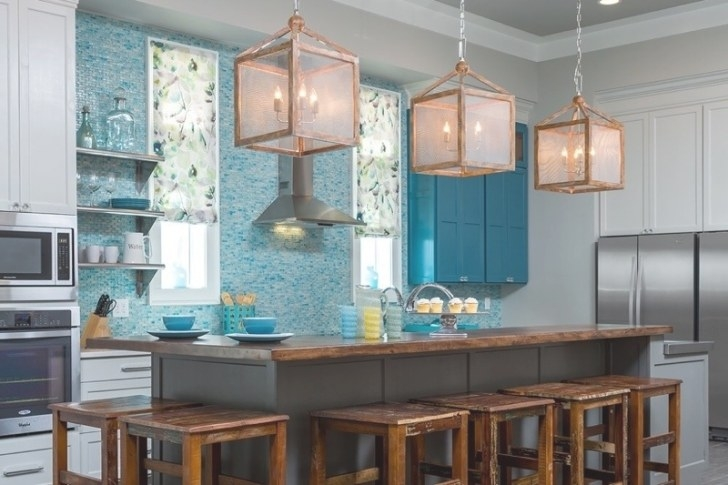 This Gorgeous Kitchen Is High Style & Low Budget pertaining to Teal And White Kitchen