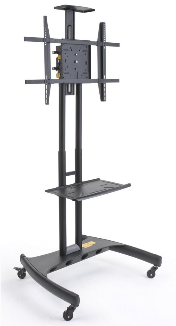 This Video Conference Stand Ships Fast When In Stock intended for Tv Stand On Wheels
