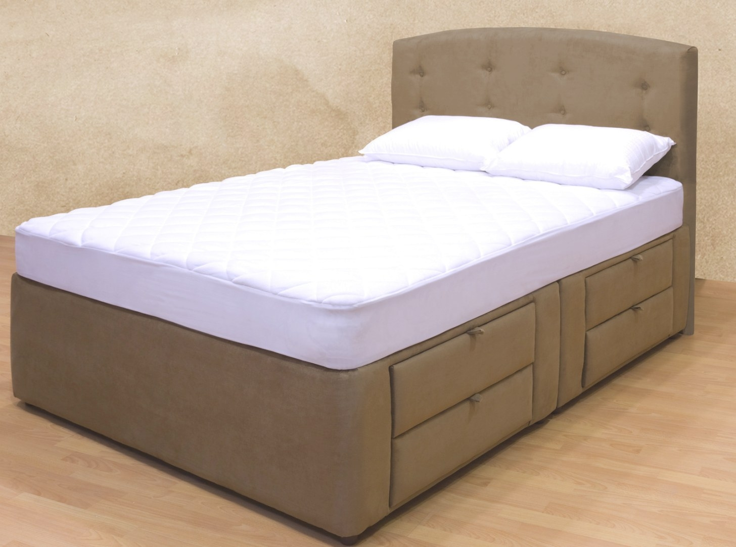 Tiffany 8-Drawer Platform Bed / Storage Mattress Bed pertaining to Platform Bed With Storage