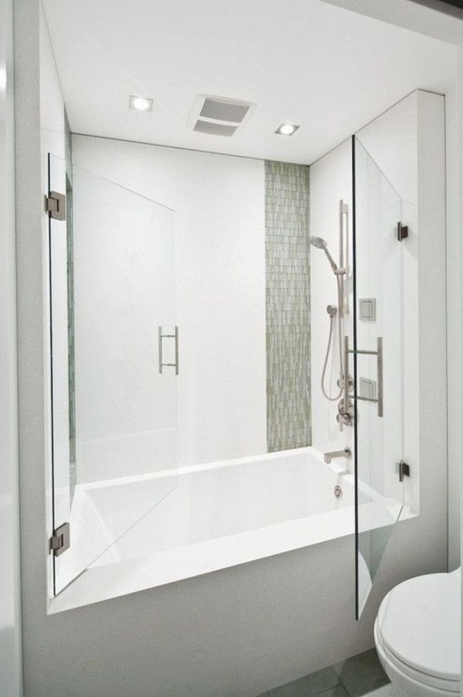 Tiny Bathroom Tub Shower Combo Remodeling Ideas 39 pertaining to Soaking Tub Shower Combo
