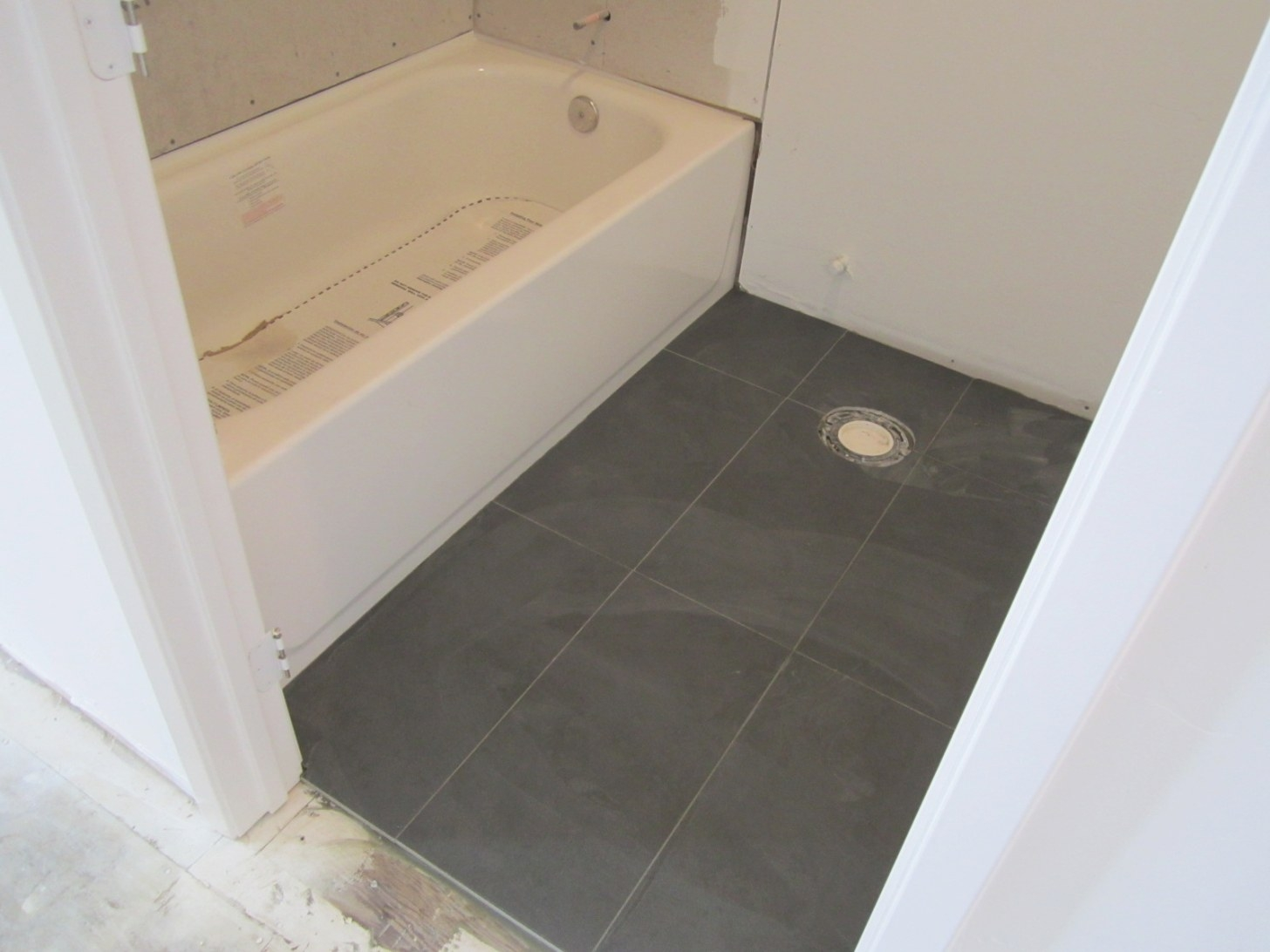 Tips: Alluring 12X24 Tile Patterns Adds Warm Style And inside 12X24 Tile In Small Bathroom