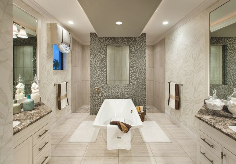 Toll Brothers - Luxurious Master Bathrooms | Luxury Homes regarding What Is A Florida Bathroom