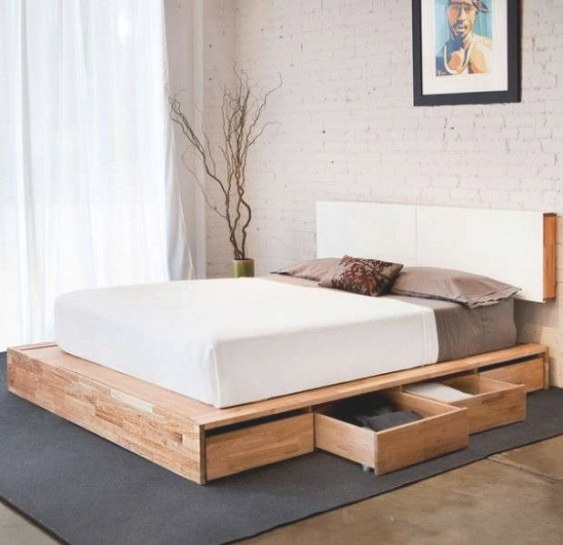 Top 10 Best Platform Bed With Storage 2018: Reviews in Platform Bed With Storage
