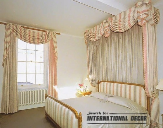 Top Ideas For Bedroom Curtains And Window Treatments inside Curtain Designs For Bedroom