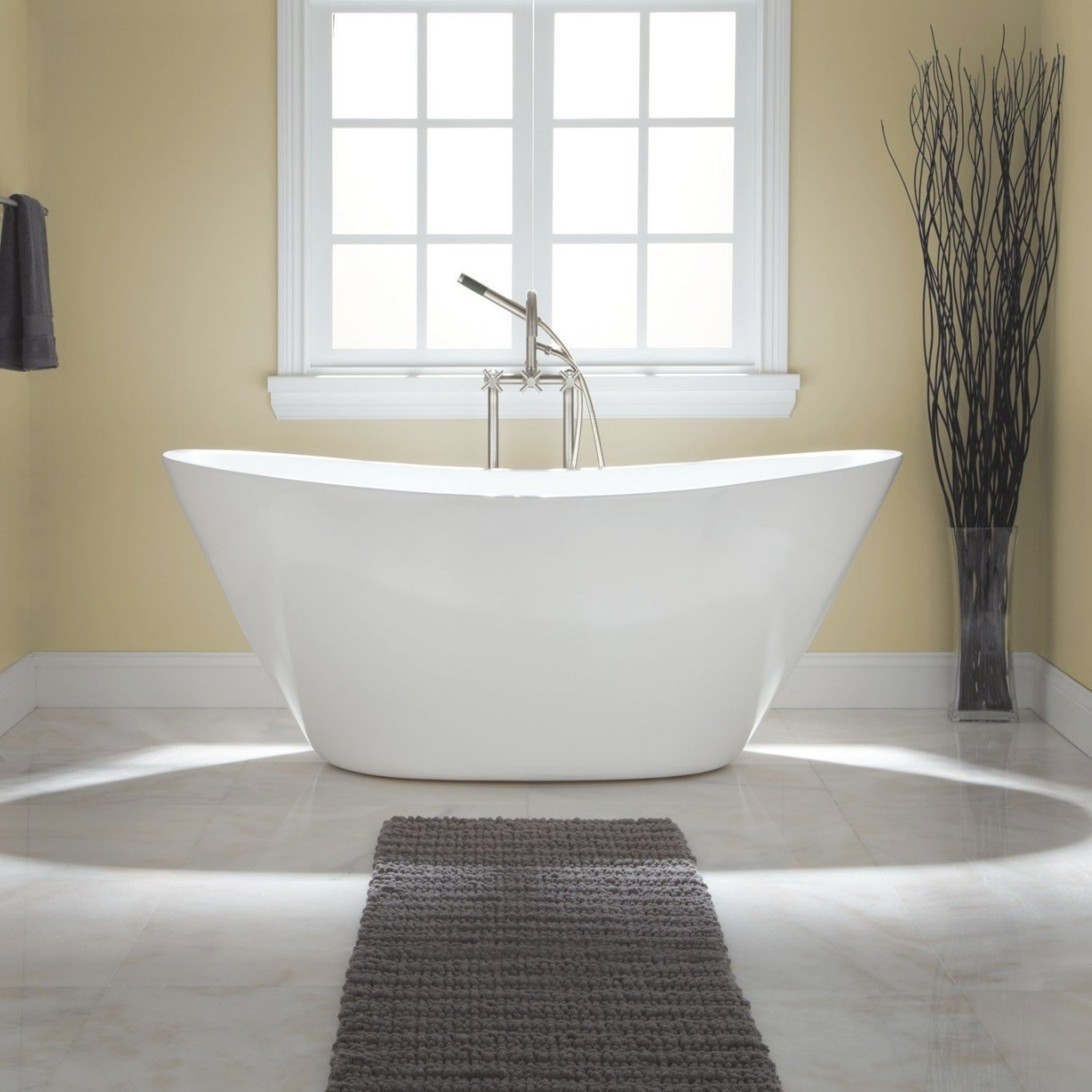 Treece Acrylic Tub - Freestanding Tubs - Bathtubs with regard to Free Standing Tub Shower