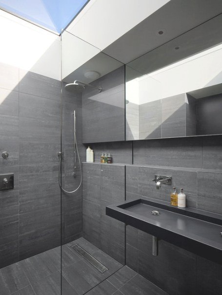 Tuscan Bathroom Designs Home Design Ideas, Pictures in Black And Gray Bathroom
