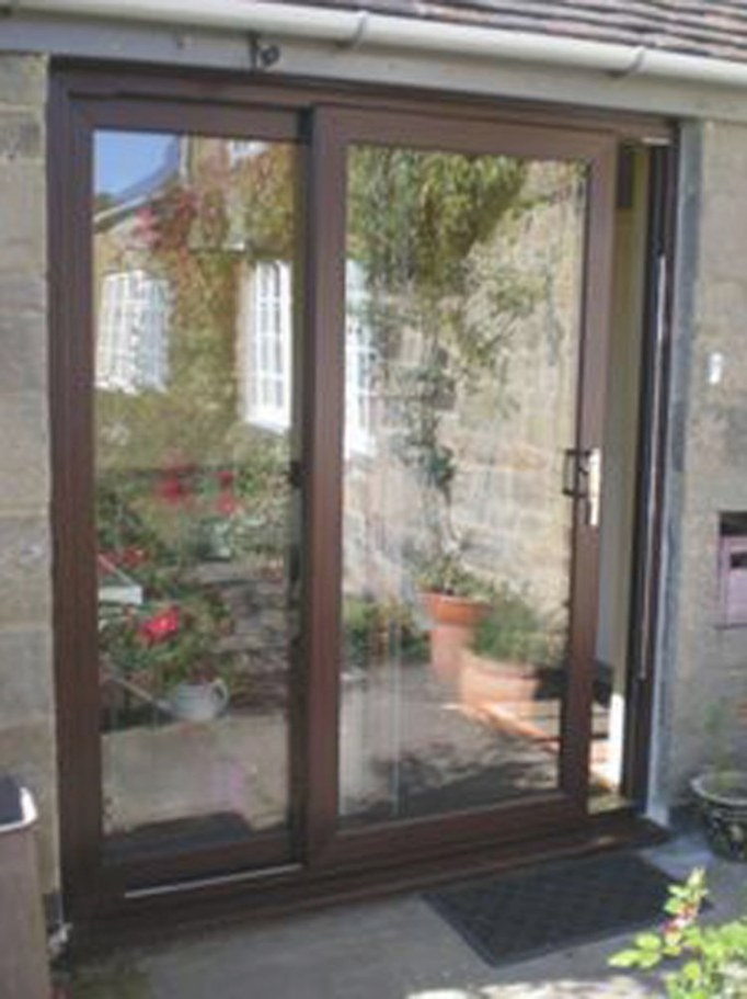 Upvc Sliding Patio Doors Mahogany *Brand New* High Quality with regard to Best Sliding Glass Doors