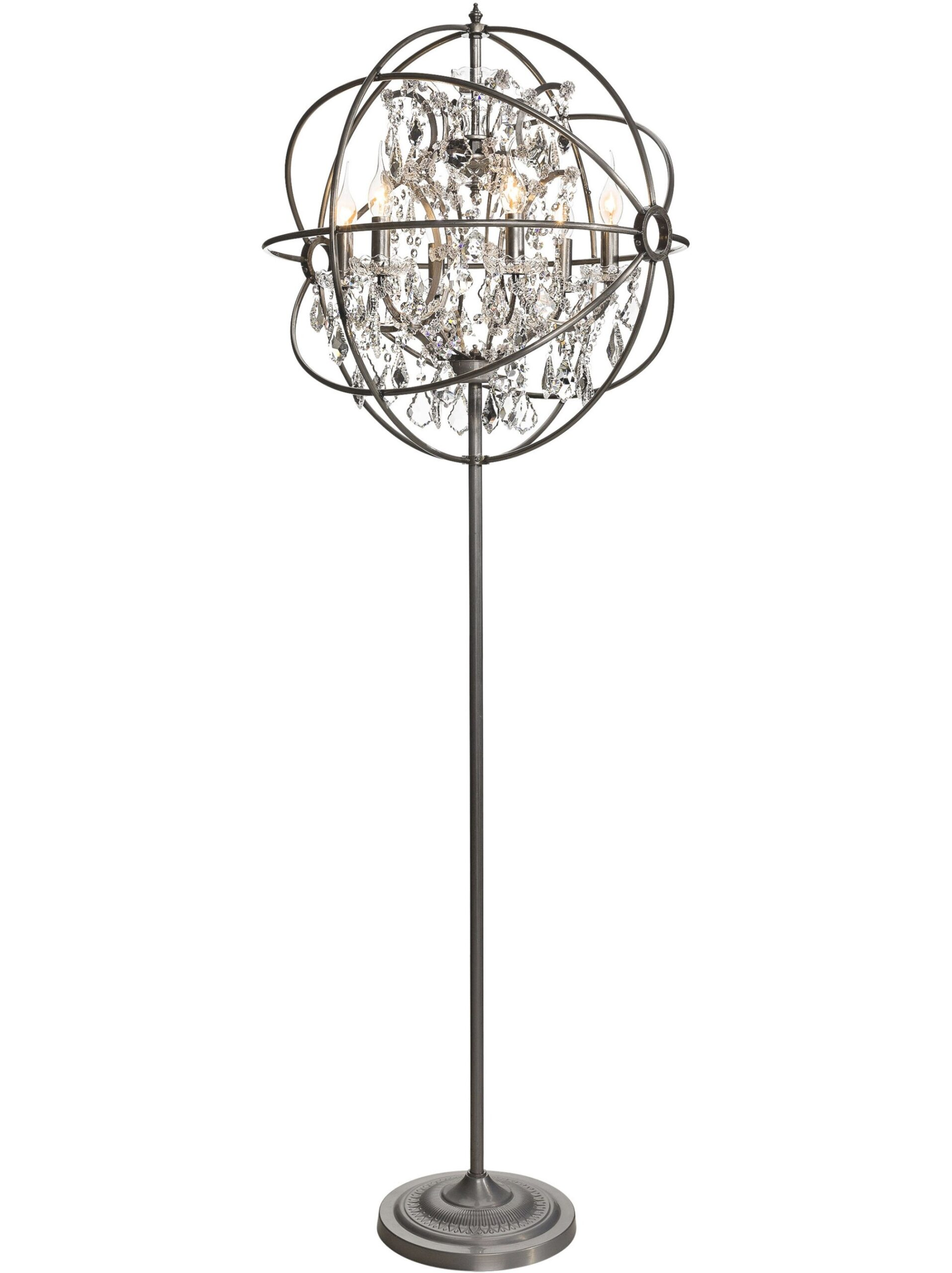 Use Floor Chandelier Lamps For Your Paradise House with Broyhill Lamps At Homegoods