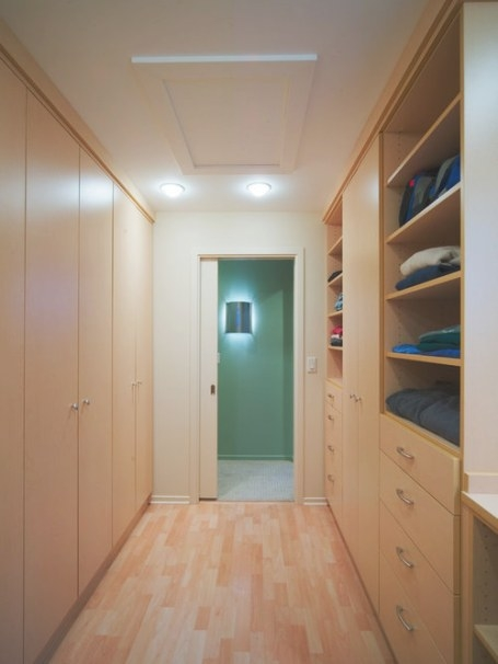Walk Through Closet | Houzz regarding Walk Through Closet To Bathroom