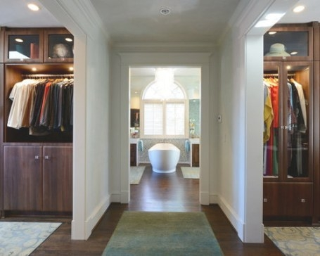 Walk Through Closet Ideas, Pictures, Remodel And Decor inside Walk Through Closet To Bathroom