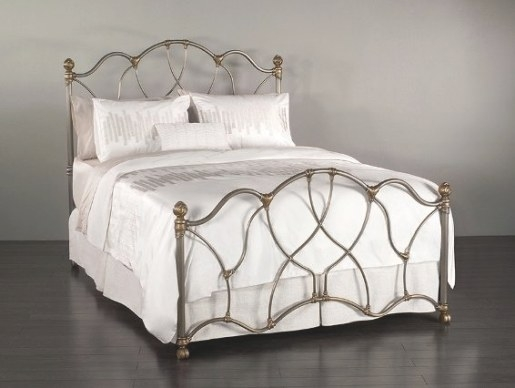 Wesley Allen Iron Bed Morsley | Johnson Furniture Mattress with Wesley Allen Iron Beds