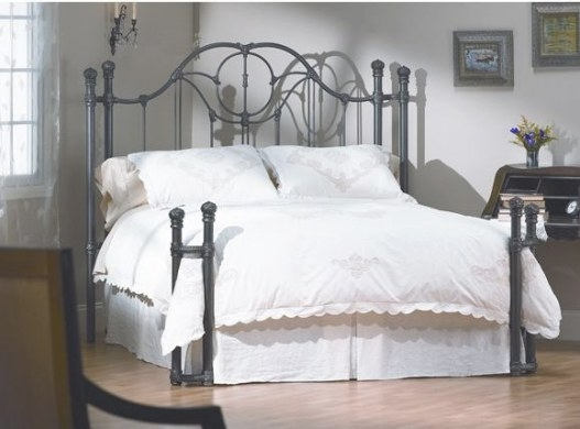 Wesley Allen Kenwich: Custom Iron Bed Frame (Twin-King intended for Wesley Allen Iron Beds