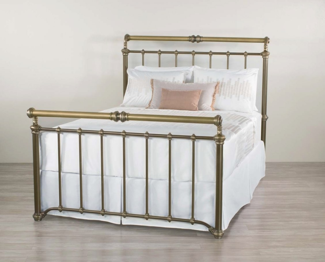 Wesley Allen Sheffield Iron Bed | Bed, Furniture, Bedroom regarding Wesley Allen Iron Beds
