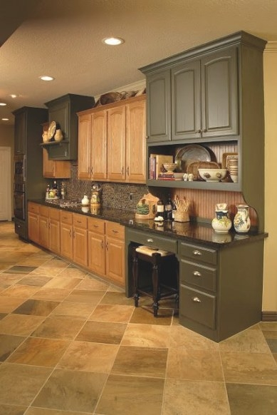 What To Do With Oak Cabinets | Home Kitchens, Oak Kitchen pertaining to Update Brown Cabinets In Kitchen