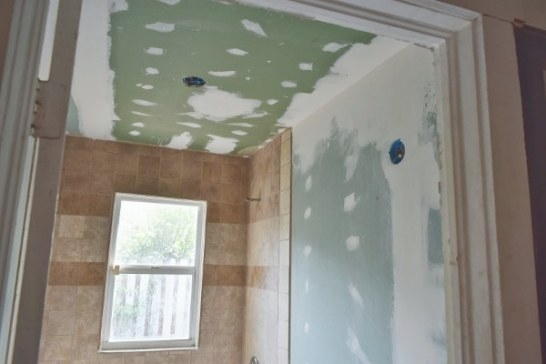 What Type Of Drywall Board Is Needed To Tile A Shower Wall intended for Green Board In Bathroom