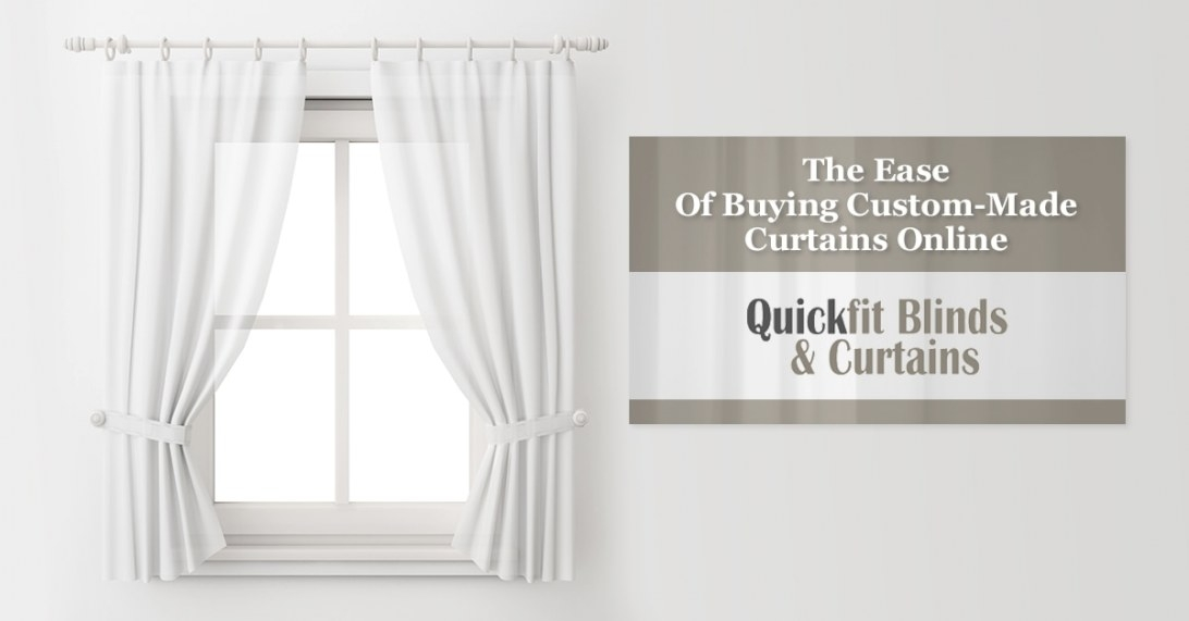 Where To Buy Custom-Made Curtains Online - Quickfit Blinds intended for Where To Buy Curtains