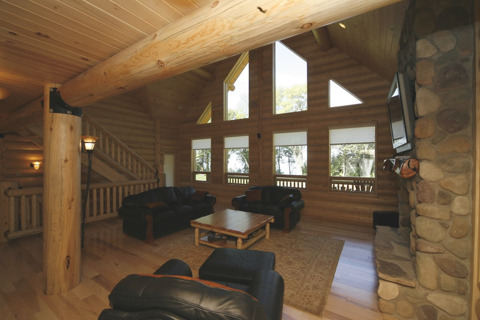 Whisper Creek Log Homes | Oke Woodsmith Building Systems Inc. regarding Whisper Creek Log Homes