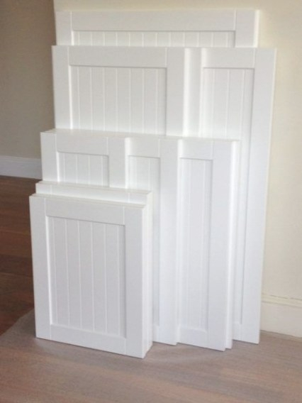 White Kitchen Cabinet Doors Replacement | Beadboard pertaining to White Kitchen Cabinet Doors